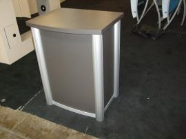 Trade Show Counter with Locking Storage -- Image 1