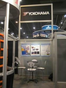 Rental Exhibit -- 20' x 20' Peninsula Booth Space -- Image 1