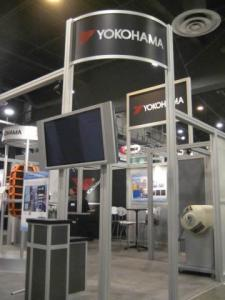 Rental Exhibit -- 20' x 20' Peninsula Booth Space -- Image 2