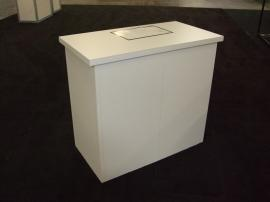 LT-116 Portable Modular Counter with Locking Storage -- Image 1