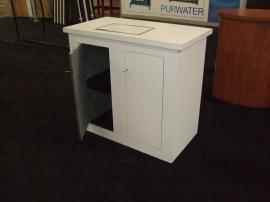 LT-116 Portable Modular Counter with Locking Storage -- Image 2