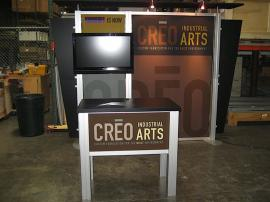 10' x 10' Tradeshow Rental Solution -- Image 1