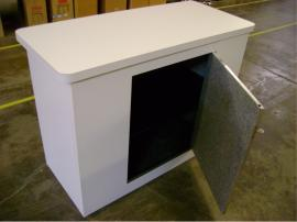 Euro LT Modular Laminate Counter with Locking Storage