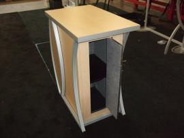 MOD-1216 Modified Pedestal with Locking Storage -- Image 3