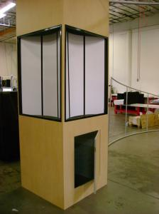 Euro LT Tower with 4 Lightboxes and Storage