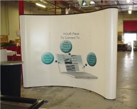 10' Quadro S Pop Up Display with (2) Monitor Mounts