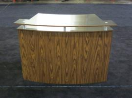 Custom Eco-Systems Counters with Stainless-steel Tops, Locking Access Doors, and Eco-friendly Laminate -- Image 1