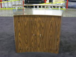 Custom Eco-Systems Counters with Stainless-steel Tops, Locking Access Doors, and Eco-friendly Laminate -- Image 2