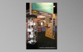 RENTAL Exhibit:  20' x 30' Rental Exhibit with Aluminum Extrusion, Slatwall, and Large Format Graphics -- Image 5