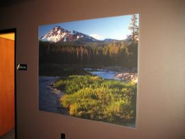 Silicone Edge Graphics (SEG) Framed with ClassicMODUL TSP 10 Low Profile Aluminum Extrusion -- Image 1
