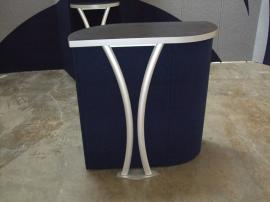 Modified LT-118 Fabric Pedestal with MODUL Aluminum Accents -- Image 1