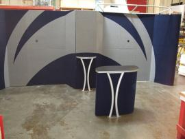 Modified LT-118 Fabric Pedestal with MODUL Aluminum Accents -- Image 3