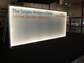 SEGUE Custom Lightbox with Fluorescent Lighting and Tri-Fab SEG Fabric Graphics -- Image 1