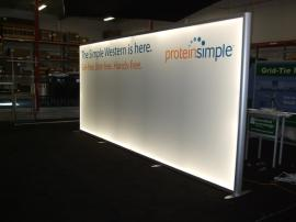 SEGUE Custom Lightbox with Fluorescent Lighting and Tri-Fab SEG Fabric Graphics -- Image 2