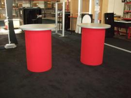 Custom Round Pedestals with Fabric Bases -- Image 2