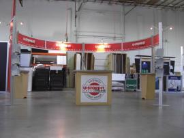 Visionary Designs 20' x 20' Island RENTAL Exhibit (during preview) -- Image 1