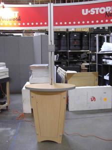 Visionary Designs 20' x 20' Island RENTAL Exhibit (during preview) -- Image 4