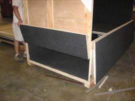 Custom Wood Crates with Jigging