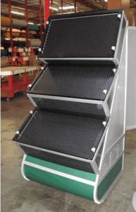 Multiple Perforated Metal Counters (one order) and a Point of Purchase Display -- Image 2