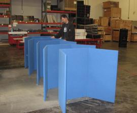 Intro Folding Table Top Displays
