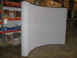10' x 10' Quadro S Pop Up Curved Frames