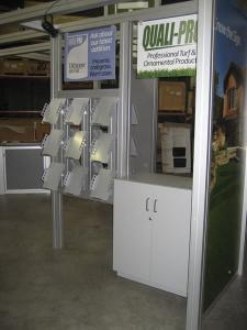 Rental Exhibit -- 20' x 20' Visionary Designs Island
