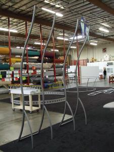 Custom Perfect 10 Banner Stations with Extended Verticals -- Image 2