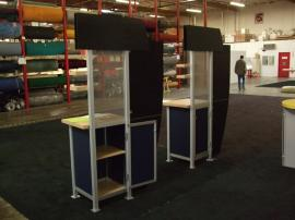 Modified MOD-1207 Kiosk with Literature Brochure Holders -- Image 4