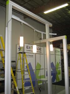 RENTAL Exhibit -- 20' x 30' Visionary Designs Hybrid Exhibit -- Image 1