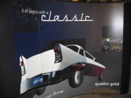 10' Quadro S Pop Up Display -- The World's Most Durable Pop Up!