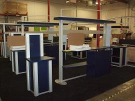 VK-1073 Visionary Designs Hybrid Exhibits with MOD-1234 Kiosks -- Image 1