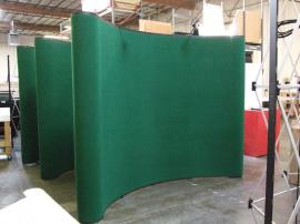 (3) QD-113 Quadro S Pop Up Displays with Fabric Panels -- Image 1