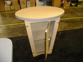 LTK-1001 Pedestal Counter with Shelves