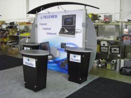 RENTAL Exhibit -- Visionary Designs VK-1001 with Modified Wings and (3) LTK-1001 Tapered Counters -- Image 2