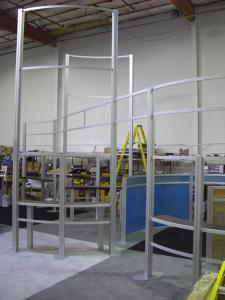 RENTAL Exhibit -- 20' x 30' Exhibit Structure (without graphics) shipping to the Midwest -- Image 1