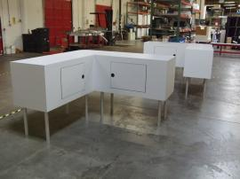 Fully Assembled Counters with Storage -- Image 1