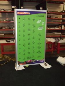 Backlit Lightbox MOD-1250 with Tension Fabric Graphics (Two-Sided) -- Image 2
