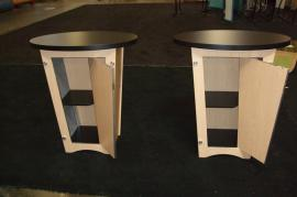 (2) LTK-1001 Modular Pedestals with Storage