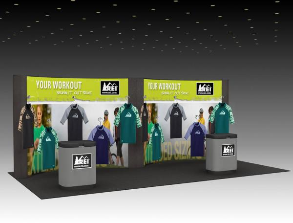 QD-214 Trade Show Pop-up Display