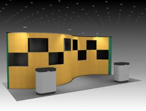QD-207 Trade Show Pop-up Exhibit