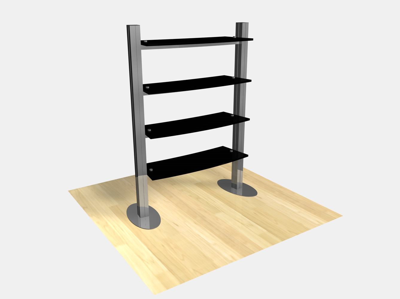 Exhibition Stand With Shelves : Exhibit design search re freestanding shelf
