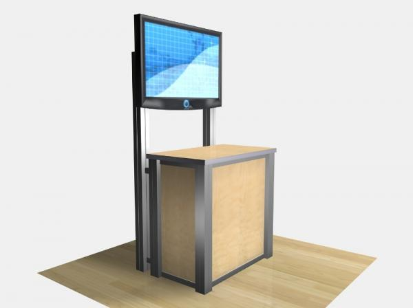 RE-1232 / Rectangular Counter Kiosk - Image 4