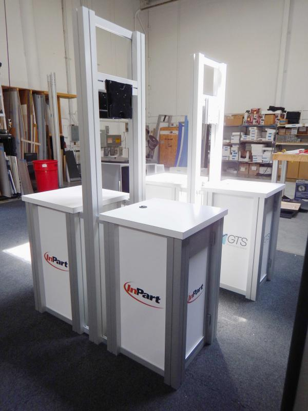 RE-1257 / Double-Sided Pedestal Kiosk - Image 4