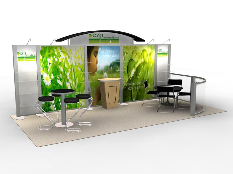 Trade Show Booth Exhibits : Exhibit design search re ezp rental inline