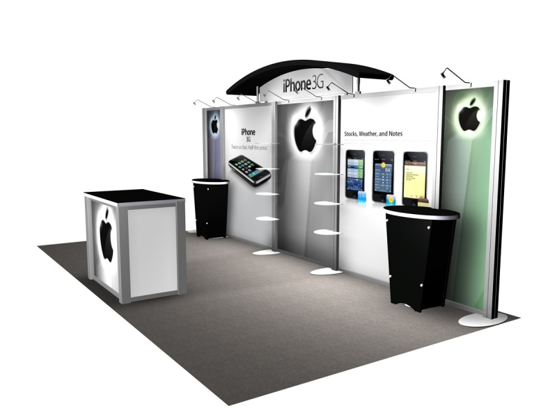 Exhibit Design Search RE 2009 IPhone With Workstations
