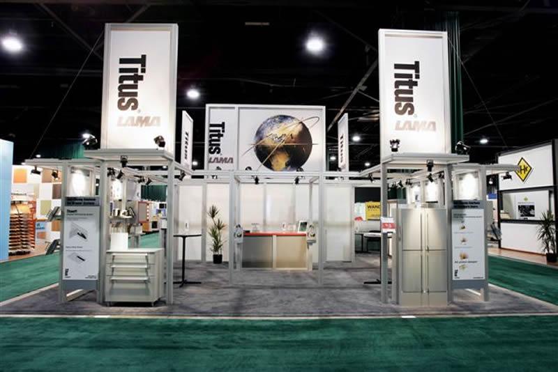 Exhibition Booth Header : Exhibit design search re titus island rental