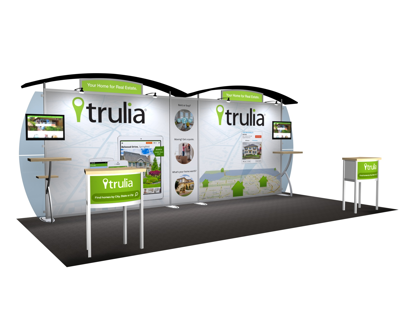 Trade Show Booth Visitors : Exhibit design search vk sacagawea ft