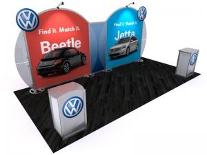 VK-2962 Portable Hybrid Trade Show Exhibit -- Image 1