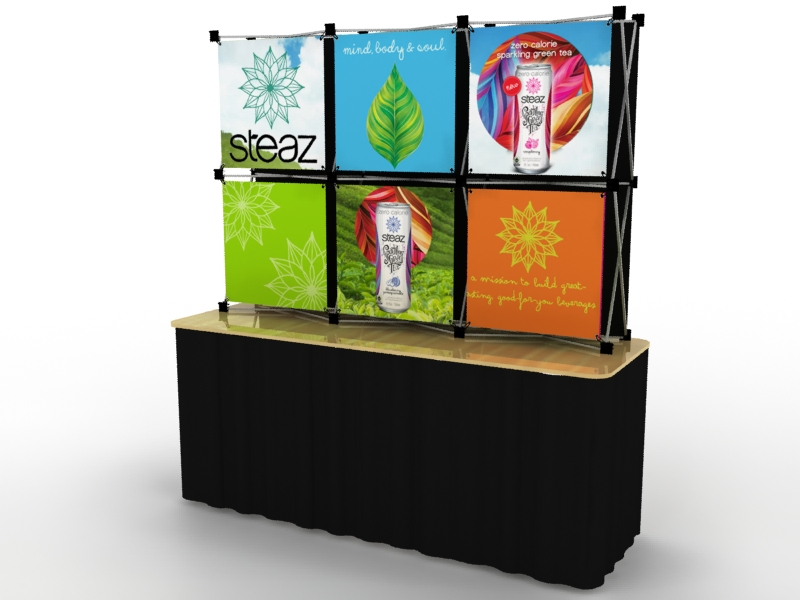 Exhibit design search fg 03 fgs pop up table top for Table top display ideas