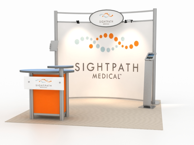 Exhibition Booth Accessories : Exhibit design search vk hybrid booth modern